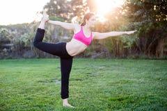 Woman yoga Stock Photo