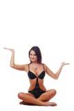 Woman yogi Stock Photography