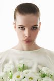 15 woman young Κοντό Hairstyle Στοκ Εικόνα