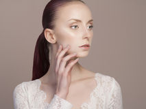 15 woman young Όμορφο gir Στοκ φωτογραφία με δικαίωμα ελεύθερης χρήσης