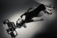 15 woman young Arkivfoto