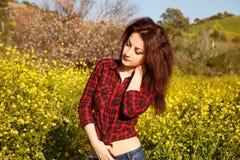 15 woman young Royaltyfria Foton