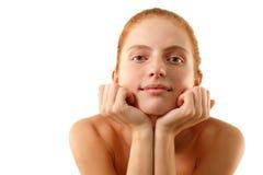 Woman young beautifu Royalty Free Stock Image