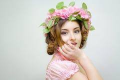 15 woman young Bild av våren Royaltyfria Bilder