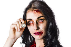 Zombie woman Royalty Free Stock Images
