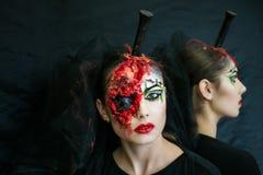 Woman zombie Royalty Free Stock Photo