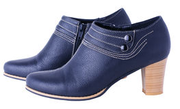 Womanish boots Stock Image
