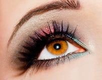 Womanish eye Royalty Free Stock Photos
