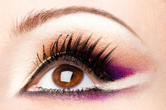 Womanish eye Royalty Free Stock Photography