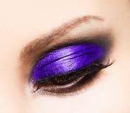 womanish eye Stock Image