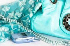 Womanish Handbag Stock Photography