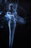 Womanish image made of fume Stock Photo