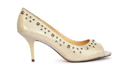 Womanish shoe royalty free stock photos