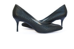 Womanish shoes Royalty Free Stock Image
