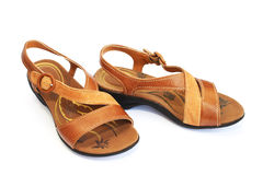 Womanish shoes stock images