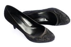 Womanish shoes Stock Image