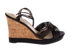 Womanish shoes Stock Image