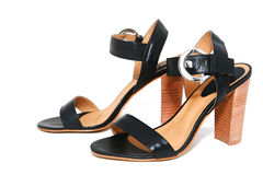 Womanish shoes isolated Stock Image