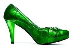 Womanish shoes isolated Stock Image