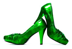 Womanish shoes isolated Royalty Free Stock Photography