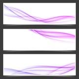 Womanly линии абстрактные установленные рогульки swoosh бесплатная иллюстрация