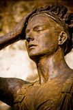 Womanly statue Royalty Free Stock Image