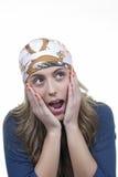 Womanp blond attrayant Image stock
