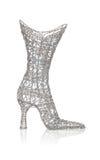 womans ботинка ботинка Стоковое Фото