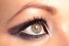 womans глаза Стоковые Изображения RF