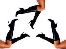 womans ног сексуальные Стоковое Фото