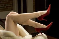 womans ног Стоковые Изображения
