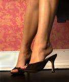 womans ног Стоковое Изображение RF