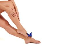 2 womans ног Стоковое фото RF