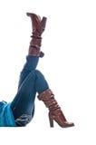 womans ног shapely Стоковое фото RF