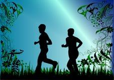 womans спринтера 2 Стоковая Фотография