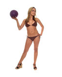 Womans Beach Vollyball Royalty Free Stock Images