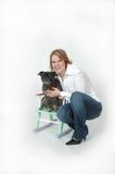 Womans Best Friend Stock Image