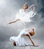 Womans dancers Royalty Free Stock Photos