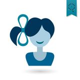 Womans Day Icon Royalty Free Stock Photo