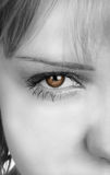 Womans eye Royalty Free Stock Photography