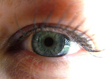 Womans eye Stock Photography