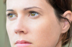 Womans Face Royalty Free Stock Images