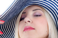 Womans' face Stock Photography
