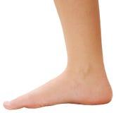 Womans Fuß Stockfotos