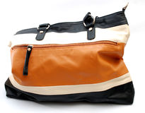 Womans handbag. Pic of brown womans handbag Stock Image