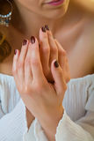 Womans hands Stock Photo