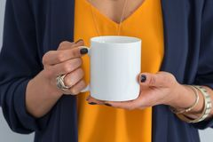 White Mug mockup - Styled Stock Stock Photo