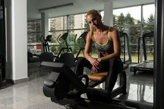 Womans Health And Fitness Stock Photo