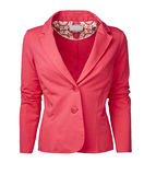 Womans jacket isolated on white, clipping path Stock Image