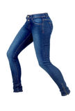 Womans jeans Royalty Free Stock Photography